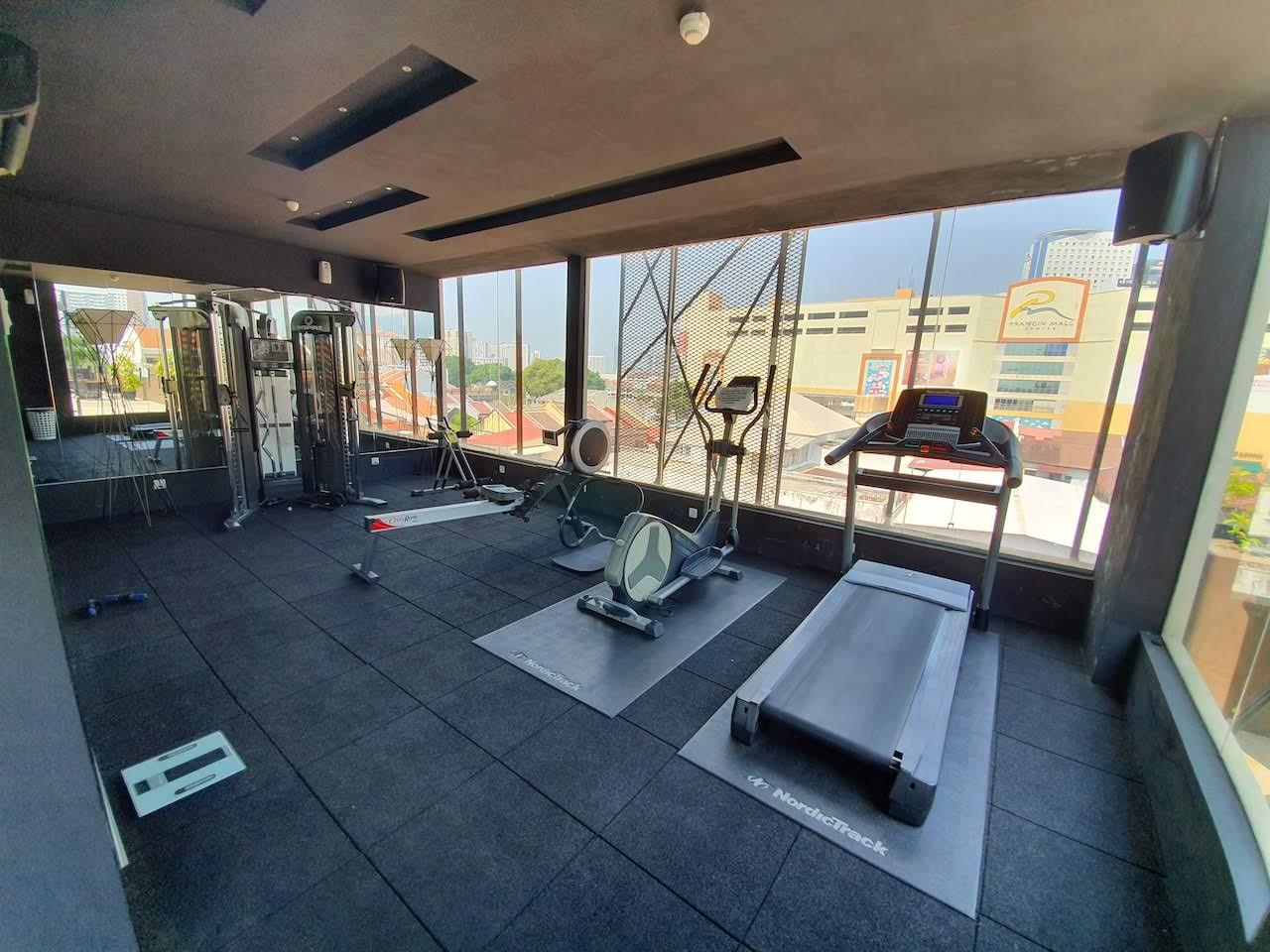 A free gym