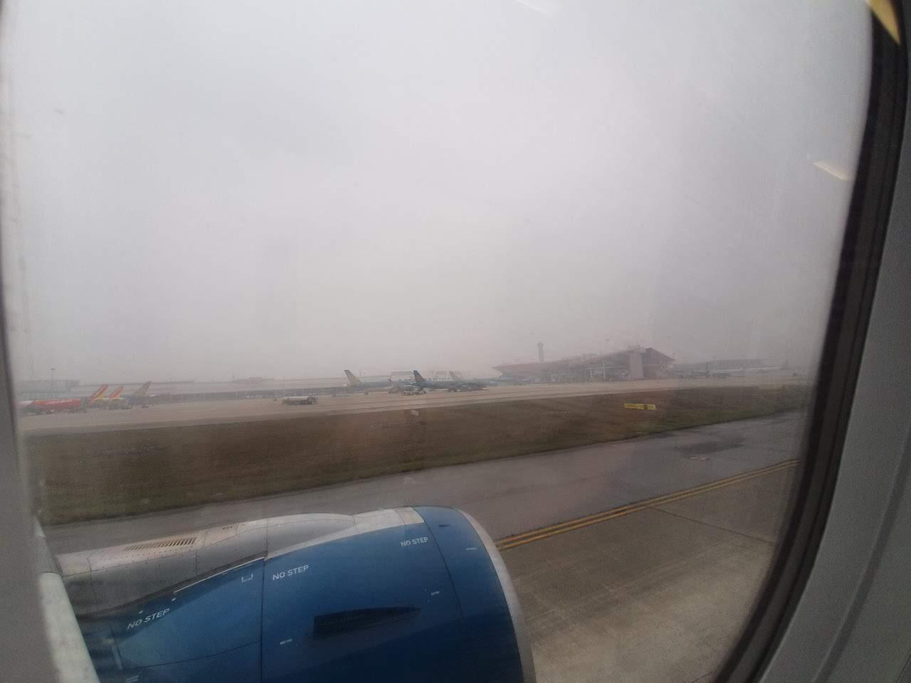 arriving at nobai airport