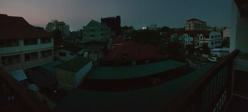 chaing mai night no electricity