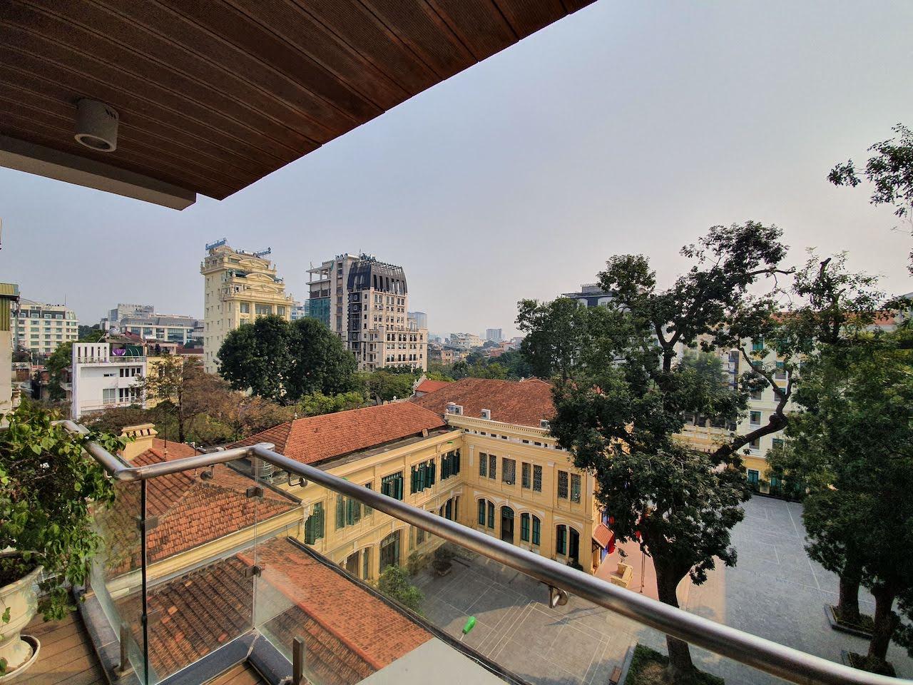 hanoi clear sky