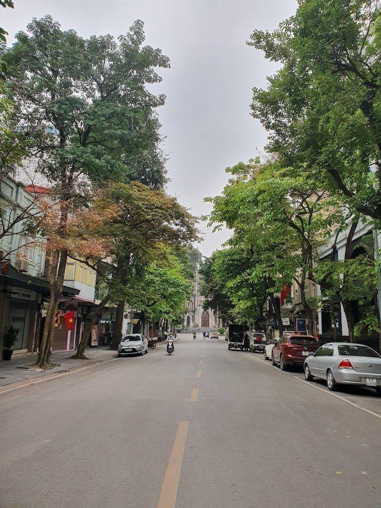 hanoi corona empty streets