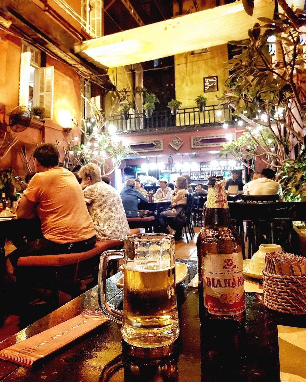 hanoi drink beer