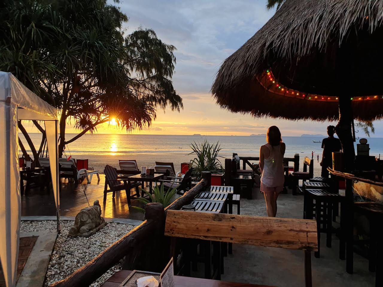 koh lanta castaway resort sunset