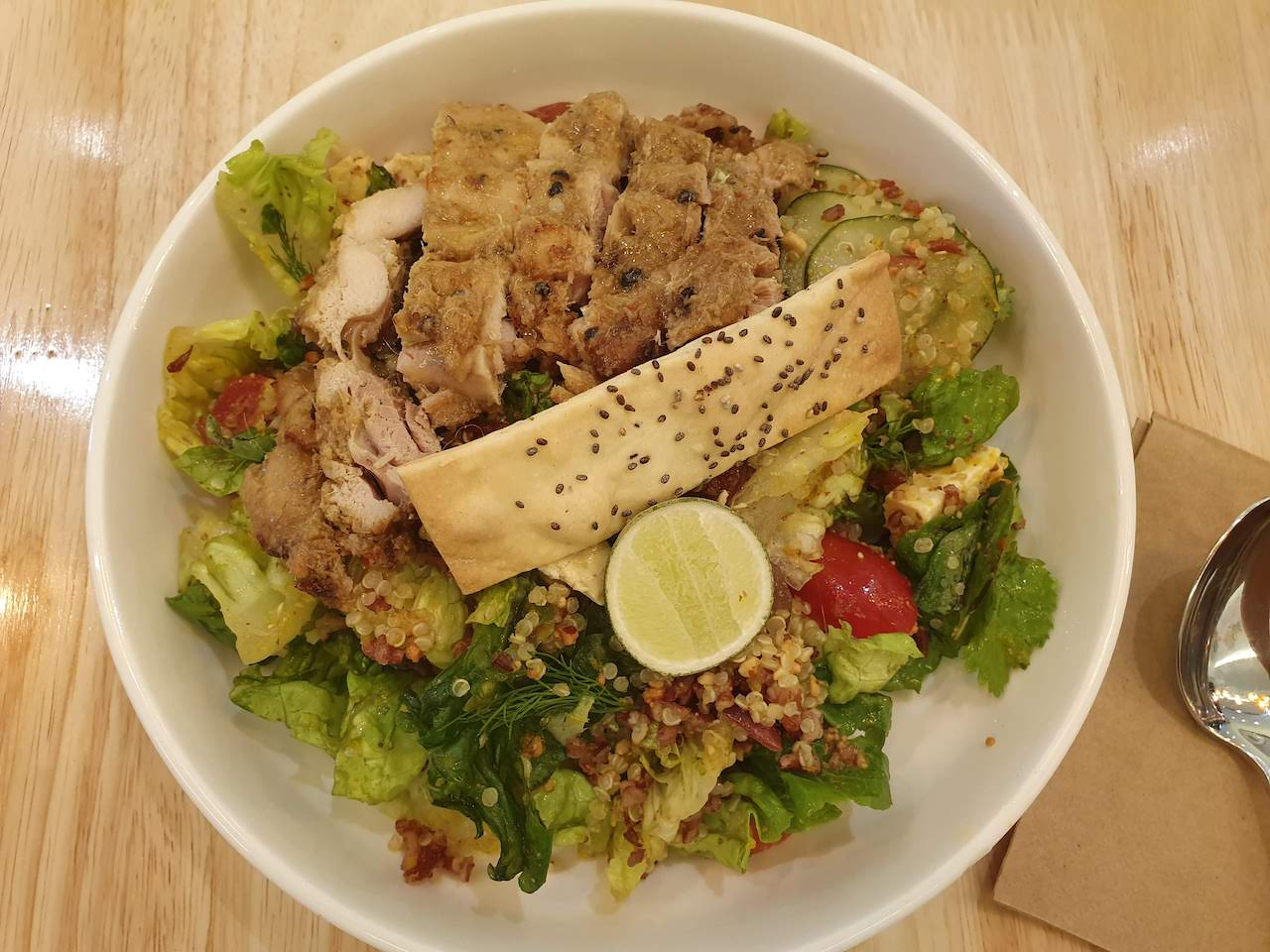 kuala lumpur healthy food saladtstaop pavillon