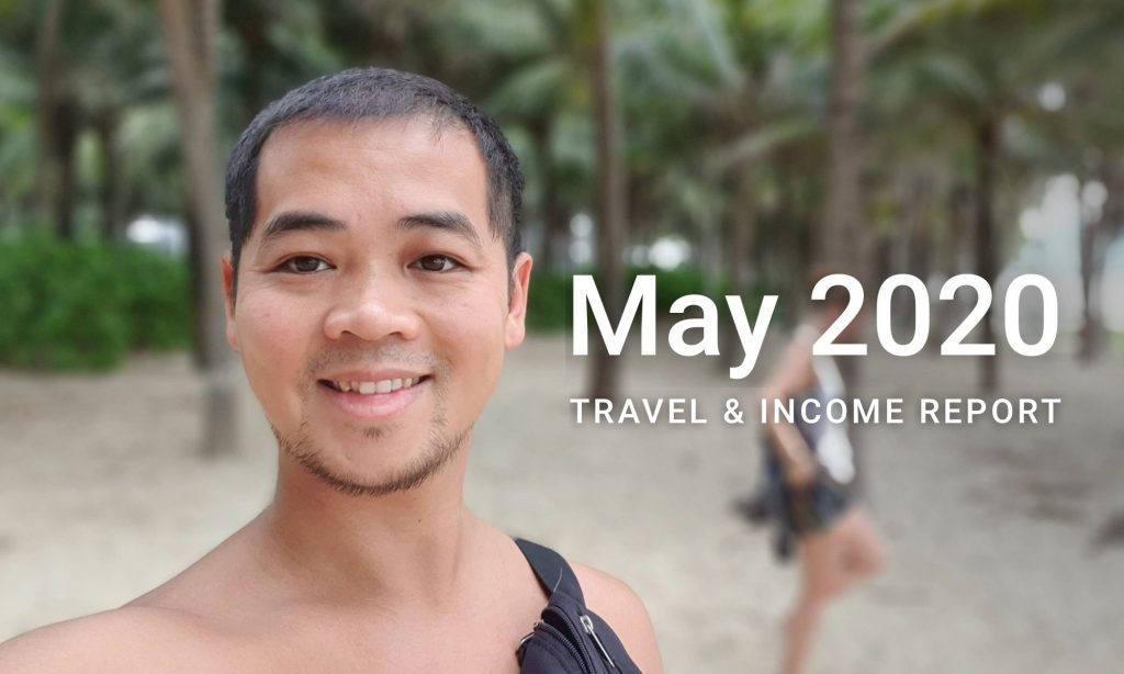 may 2020 travel income report cover