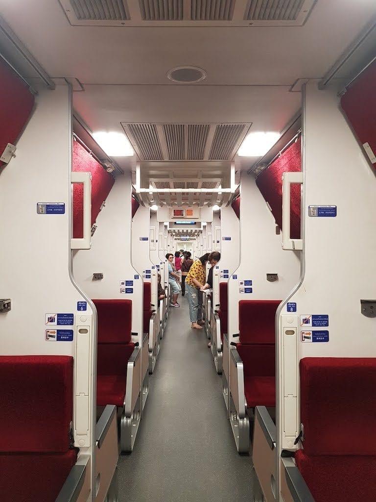 night train thailand 2019