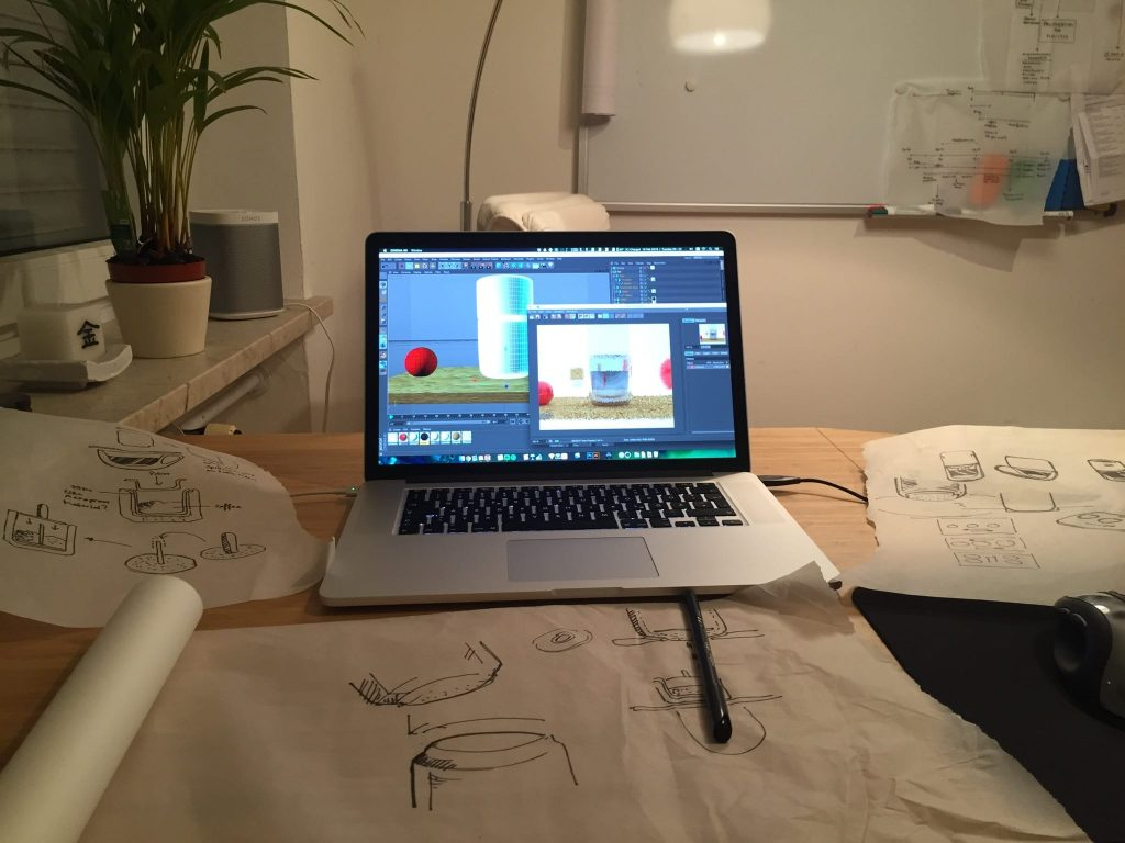 sketching vinabrew