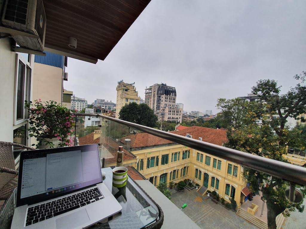 working from home in hanoi