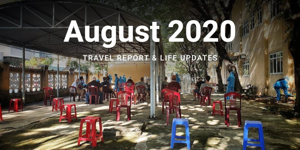 august travel income report cover