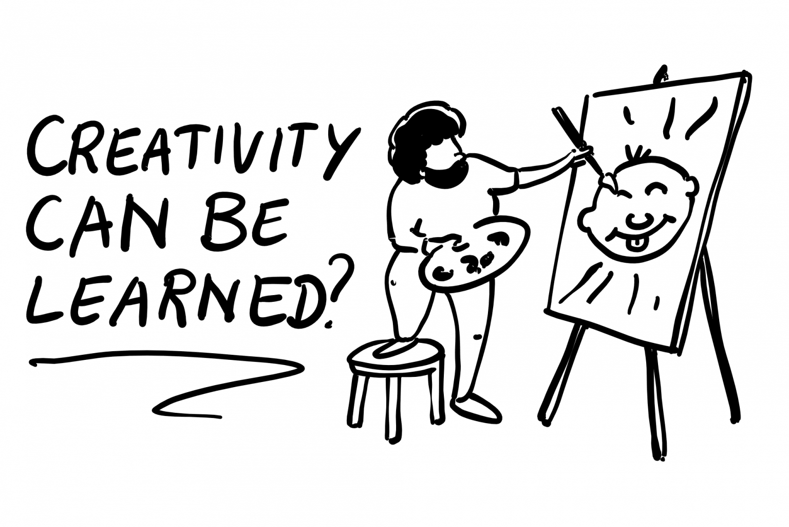 Can creativity be learned
