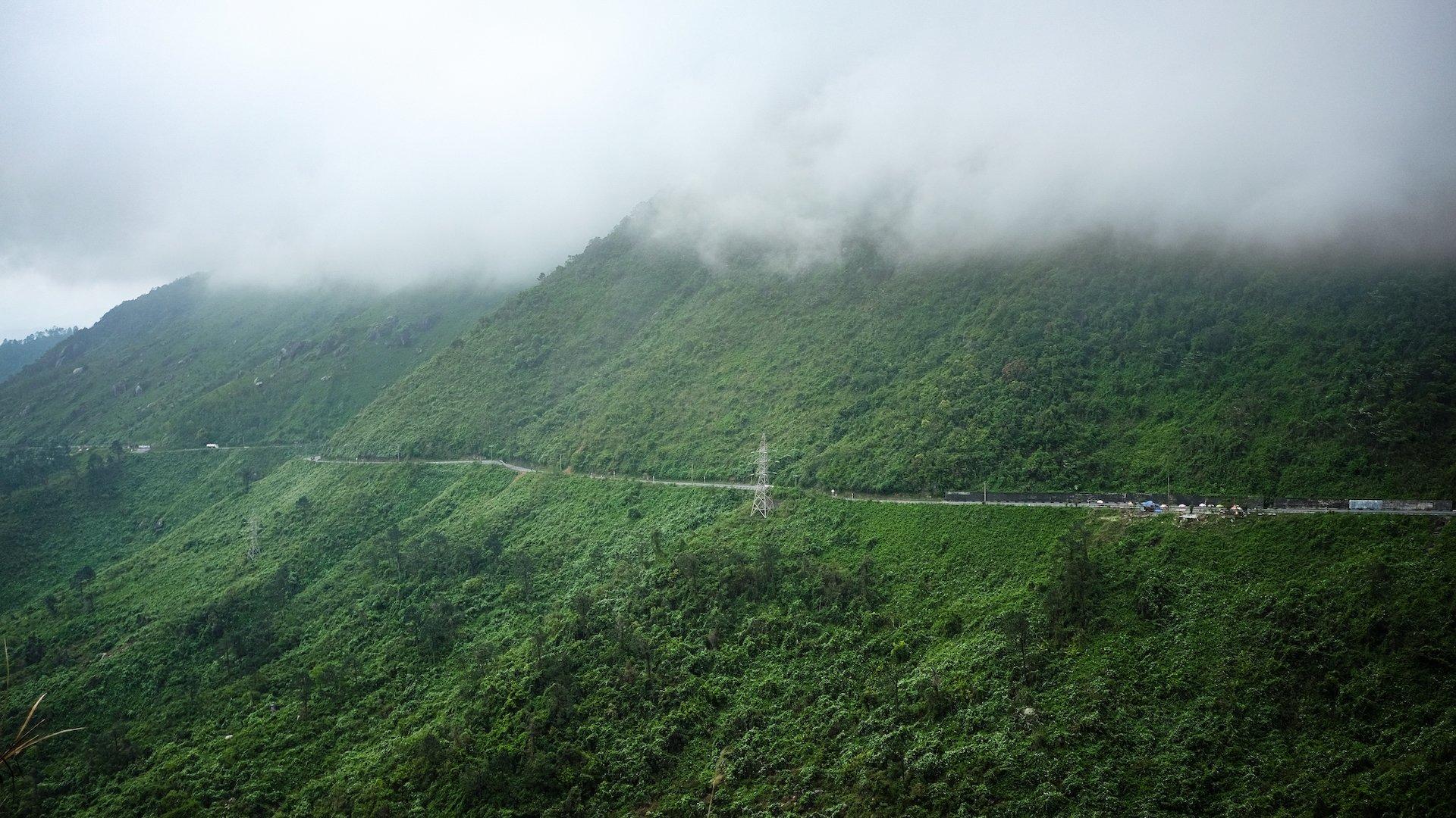 Hai Van Pass Clouds