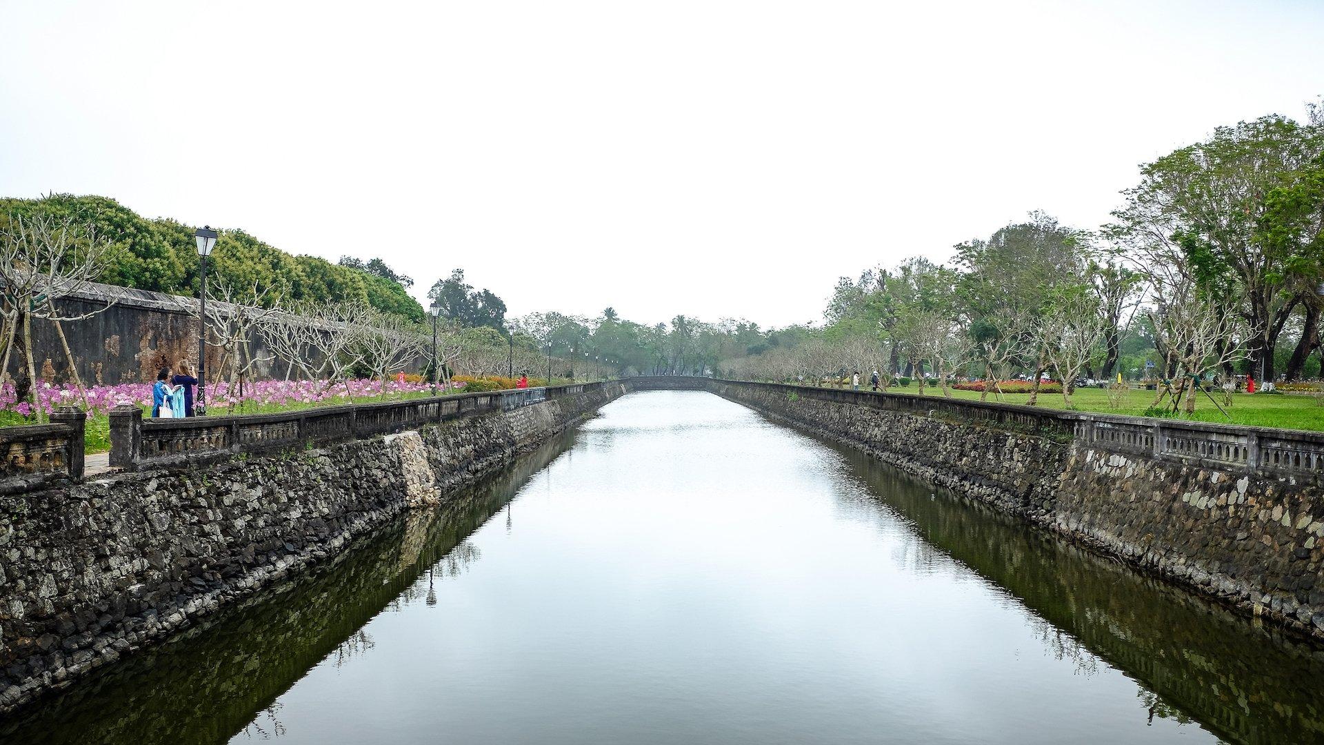 Hue Imperial City Walls 2