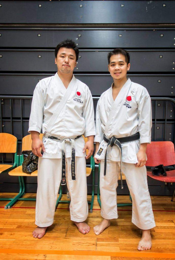 Karate Sensei Keisuke Nemoto