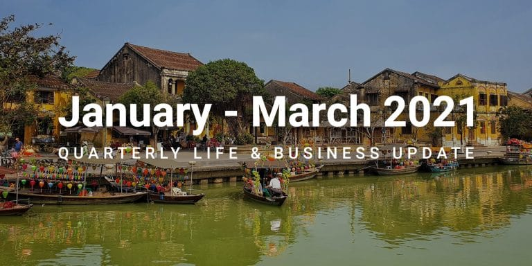 January to march 2021 quarterly life update