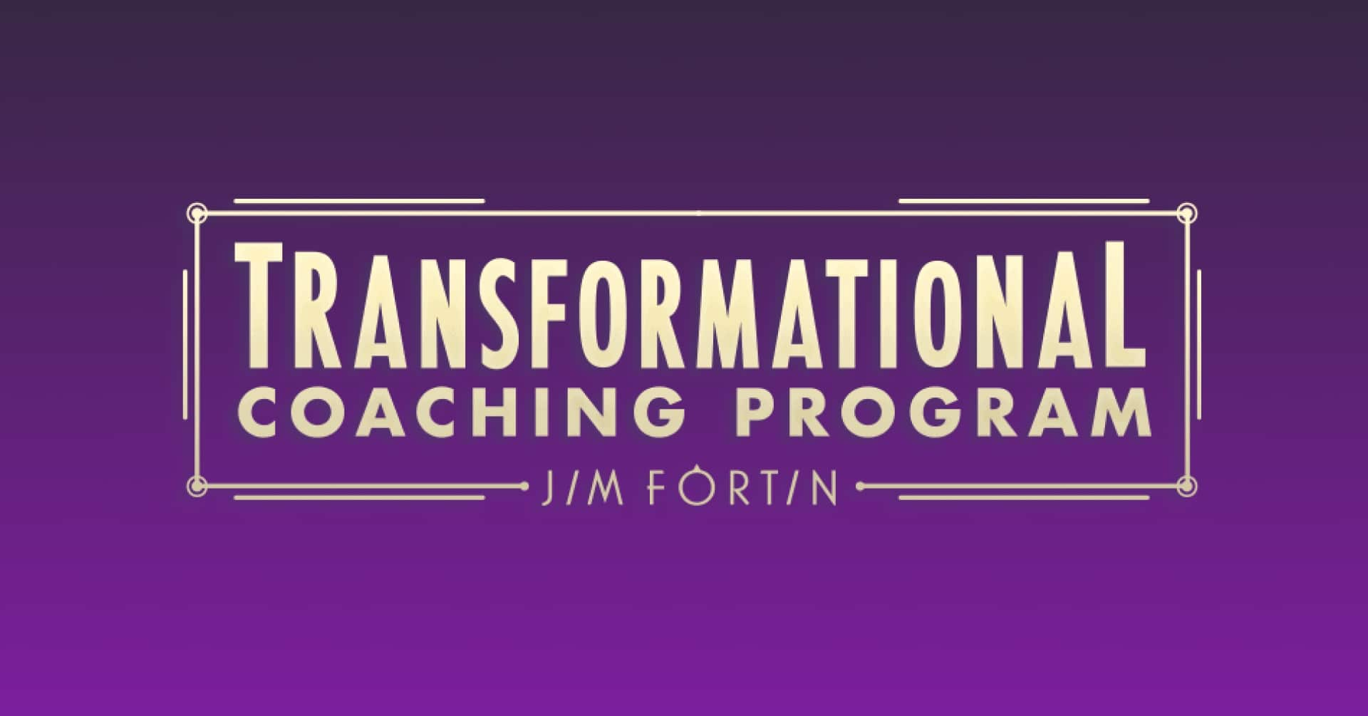 TCP coaching program banner