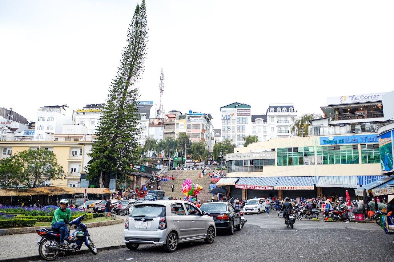 Da Lat city center