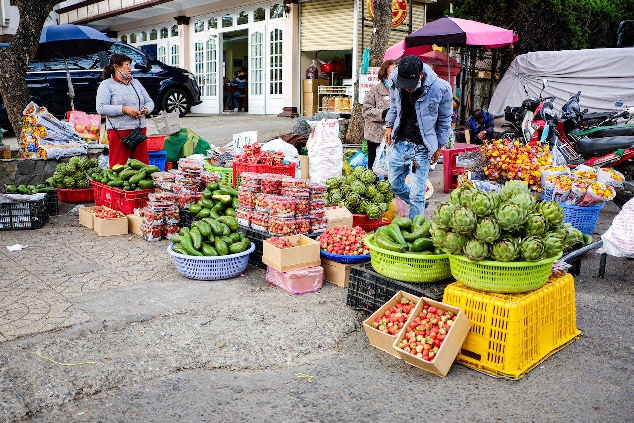 Da Lat market 1