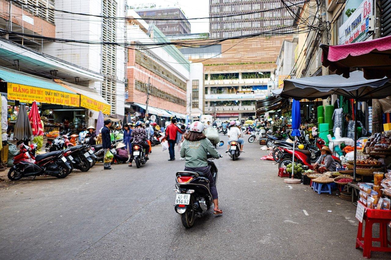 Da Lat market 6