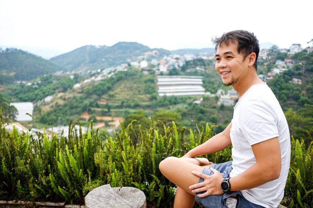 Ninh in Da lat