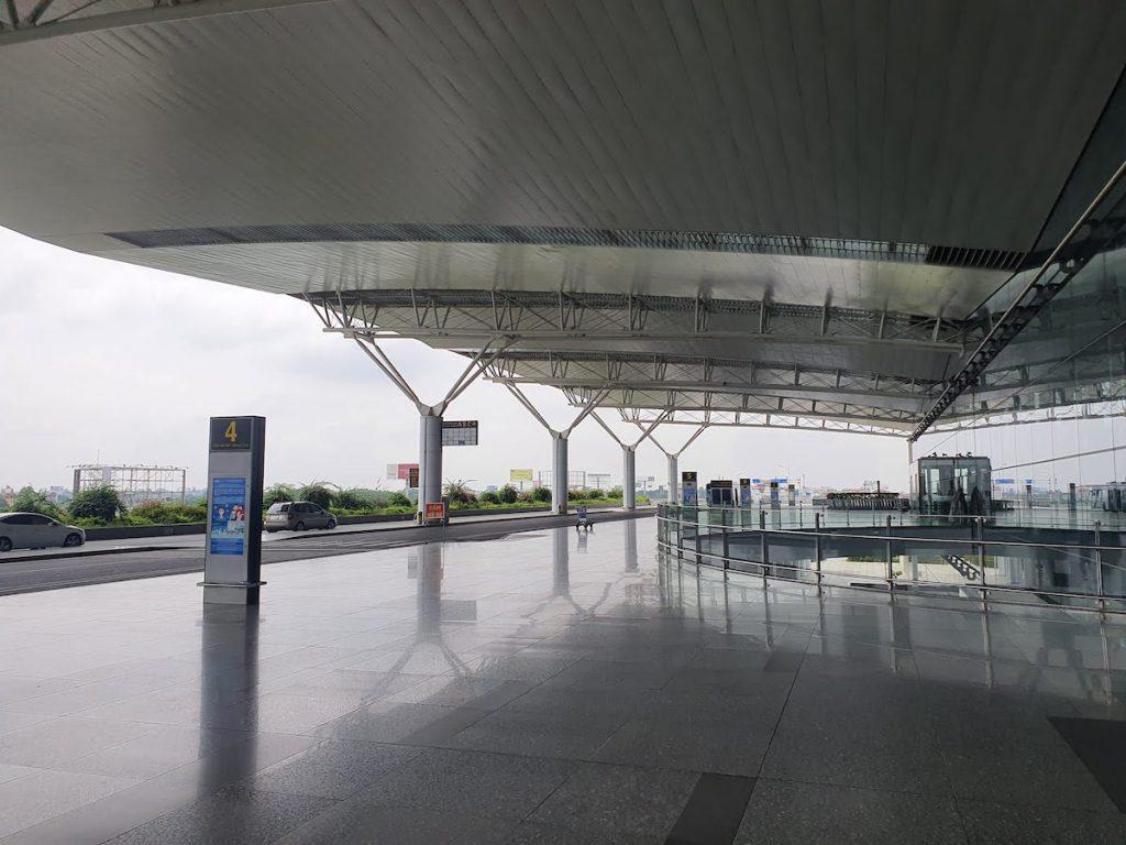 1 Hanoi Airport during Lockdown