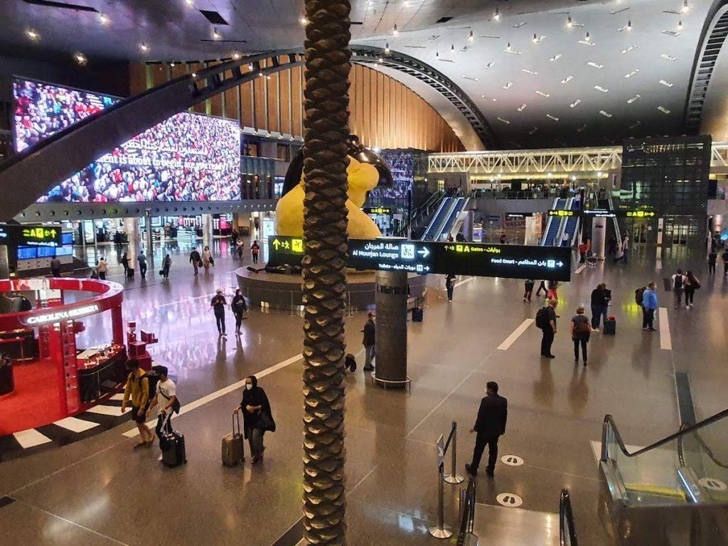 2 Flight to Doha