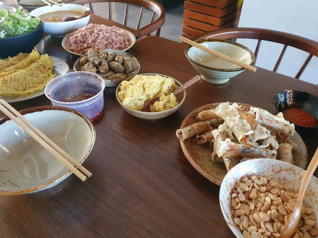 3 Farewell Lunch Moon Family Da Nang