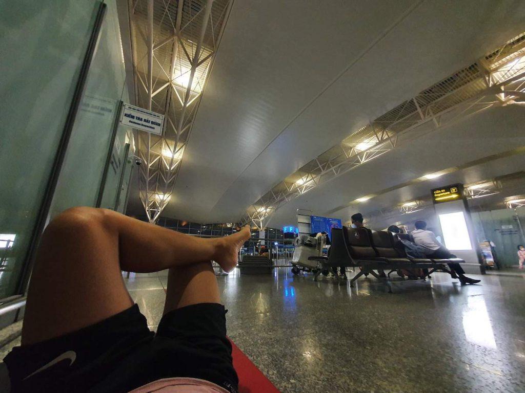 3 Hanoi Airport during Lockdown