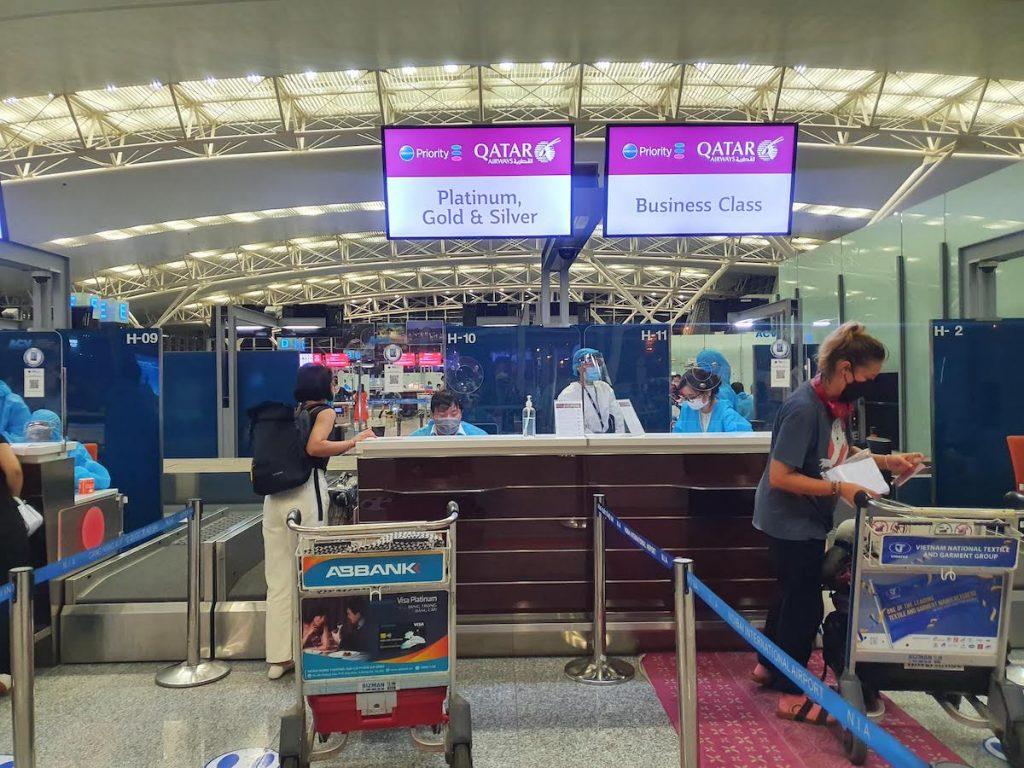 4 Hanoi Airport during Lockdown