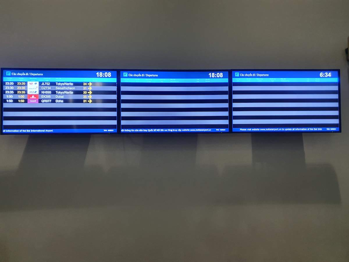 14 Leaving Vietnam Noi Bai Airport Time Table