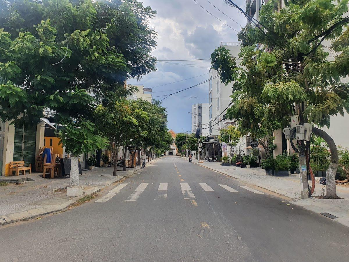 Da Nang September 2021 empty streets