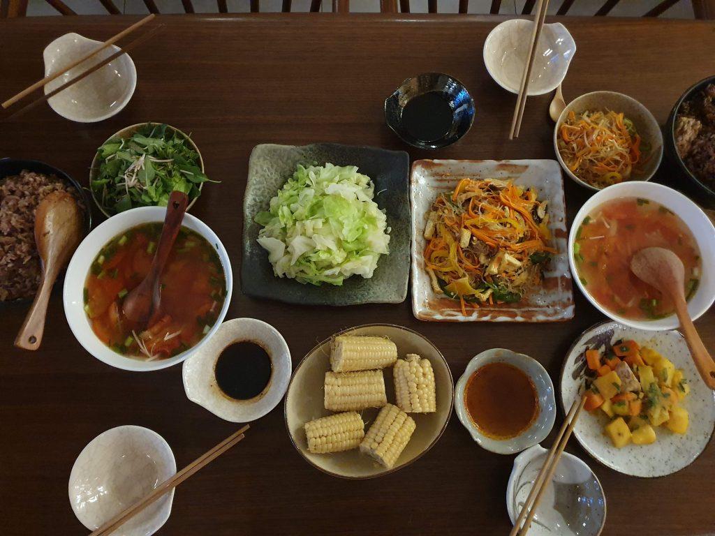 Moon family Vegan Food 04