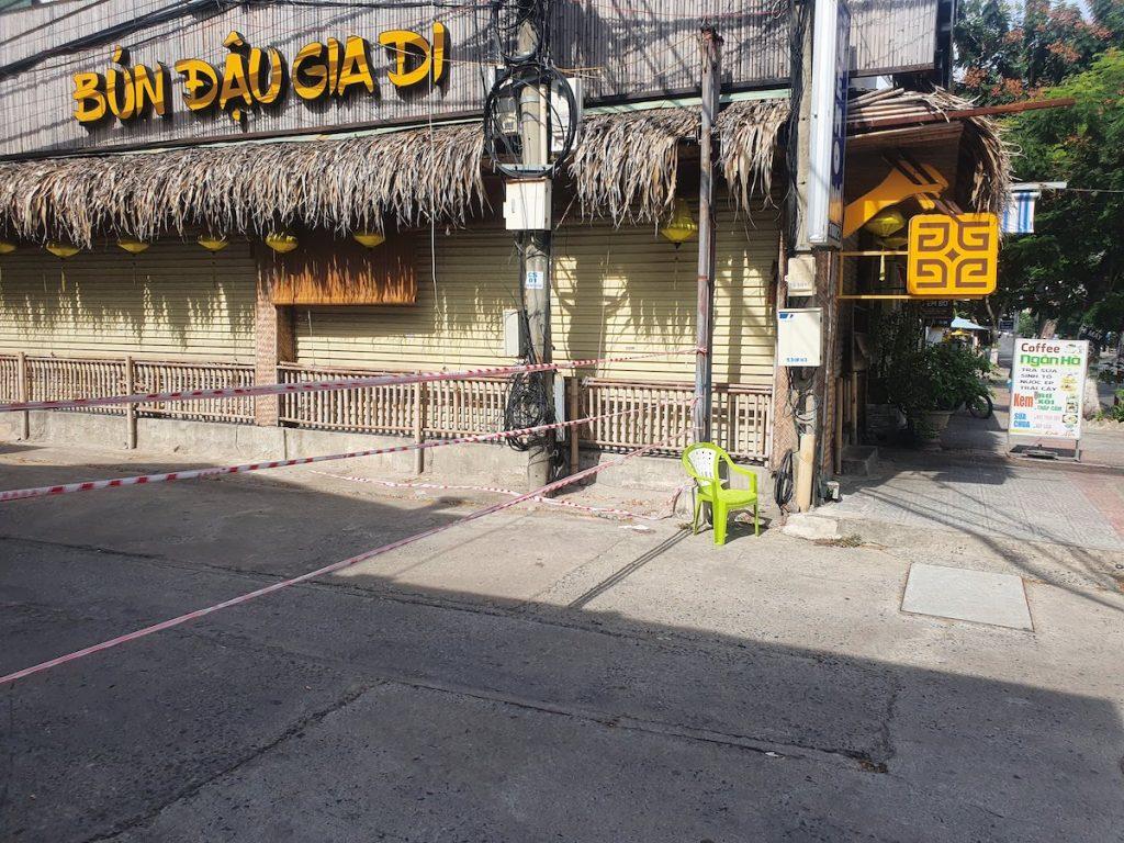 Street blockade
